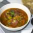 Tomaten-groentesoep met extra veel groenten