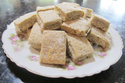Shortbread met sweet rash el hanout