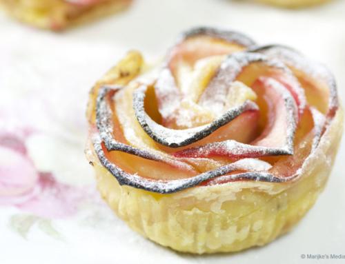 Appel-rozentaartjes