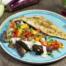 Aubergine met tahini en zeebaarsfilet