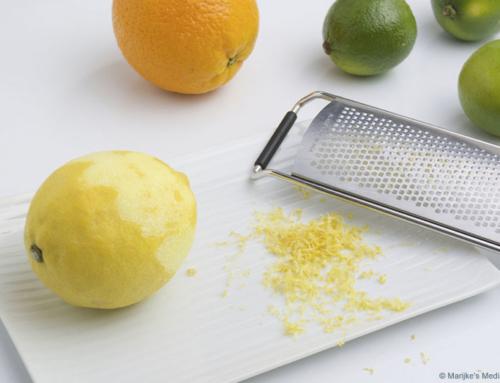 De allerfijnste citrusrasp