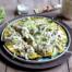 Japanse omelet met zeewiersnippers