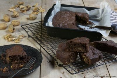 Brownies met walnoten