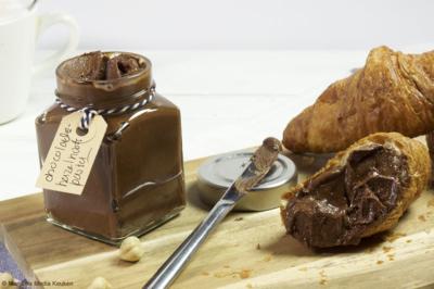 Zelf chocolade hazelnootpasta maken