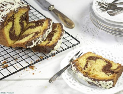 Dubbelchoc marmercake