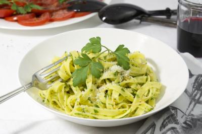 Pasta met olie en knoflook (pasta con olio e aglio)