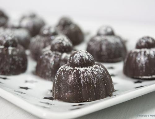 Chocolade kers(t)bonbons met amarene kersen