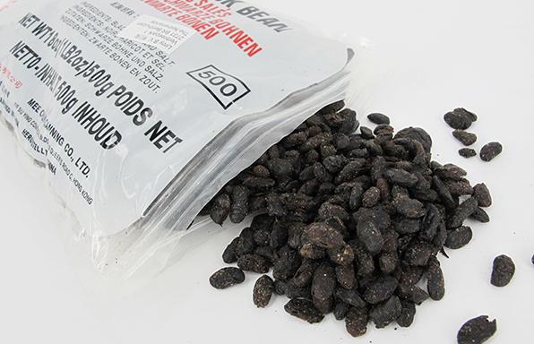 gezouten zwarte bonen