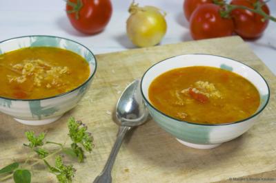 Lekkere tomatensoep