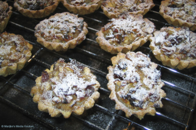 Mincemeat taartjes maken