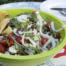Venkelsalade met linzen en buffelmozzarella