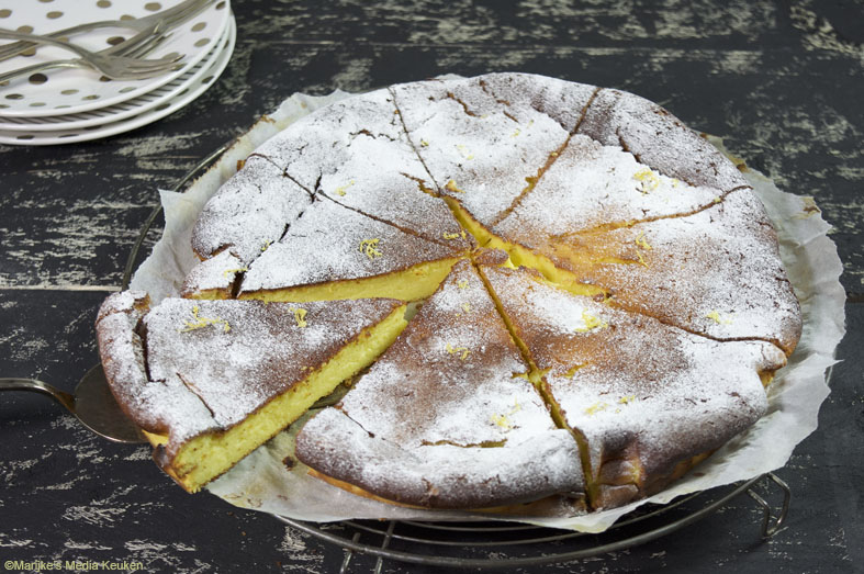 Cheesecake met citroen