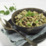 Tuinbonen met spek, ui en oregano
