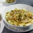 maak vandaag deze lekkere pasta met prei en chorizo