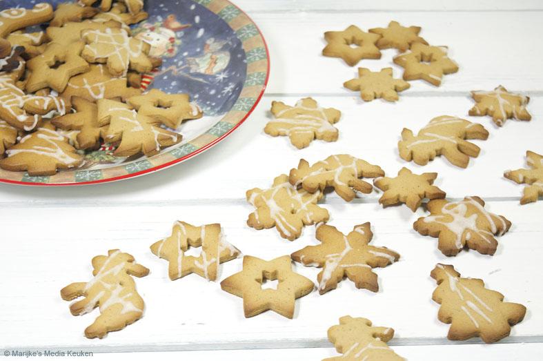 Kerstboomkoekjes maken