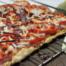 Supersnelle pizza met paprika en Parmezaan maken