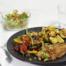 Schnitzel met avocadosalsa en roergebakken groenten maken