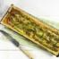 Hartig taartje met groene asperges maken